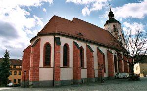 Ronneburg, die Stadtkirche St.Marien