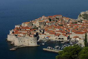Luftaufnahme der Altstadt von Dubrovnik (2006).