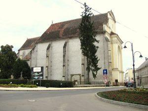 Die römisch-katholische Kirche in Thorenburg, in der sich der Siebenbürger Landtag versammelte